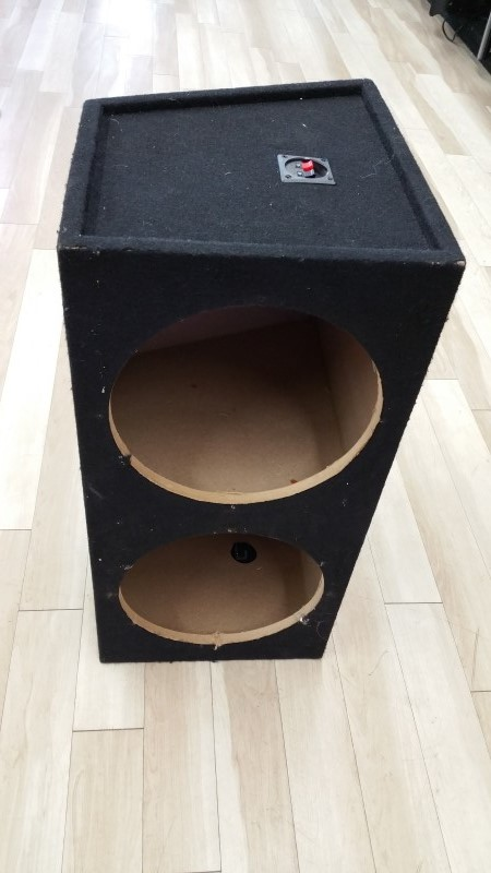 "2x12"" SPEAKER BOX, NOT PORTED"