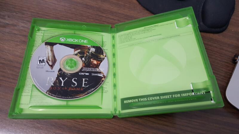 Ryse: Son of Rome - Day One Edition (Microsoft Xbox One, 2013)