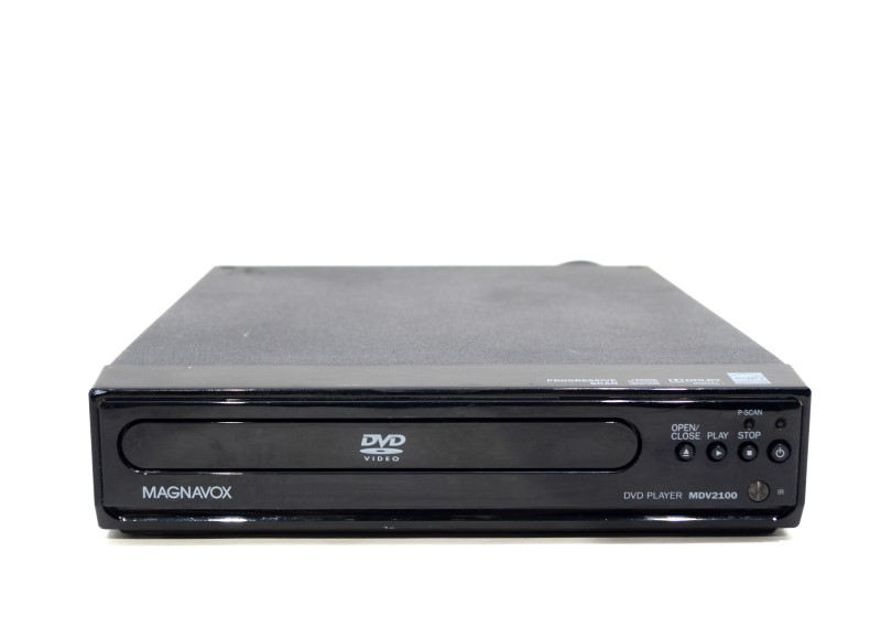 MAGNAVOX MDV2100 PROGRESSIVE SCAN DVD PLAY AS-IS PLEASE READ>