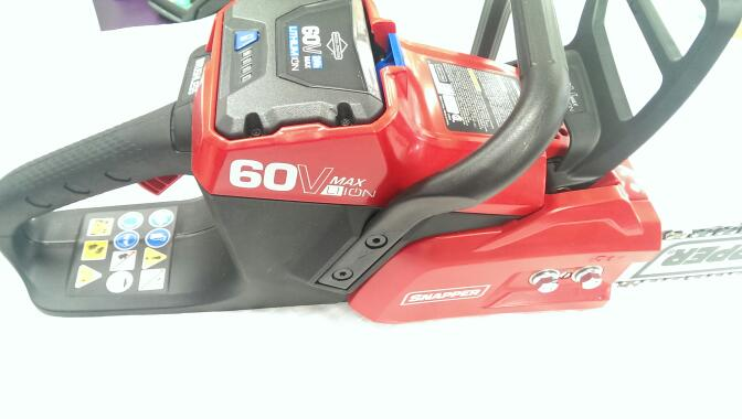 SNAPPER CHAINSAW MODEL SC60V (IN STORE PICKUP ONLY)