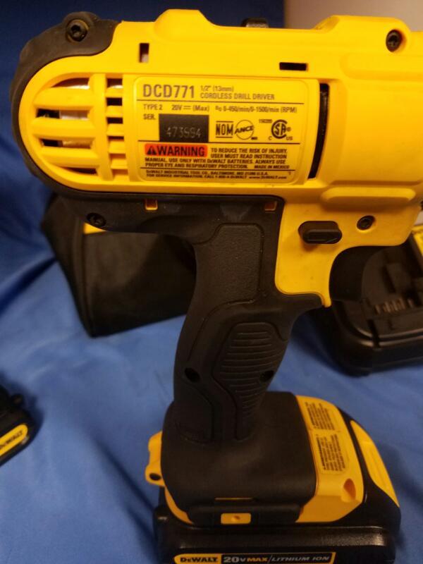 DEWALT Cordless Drill DCD771CS