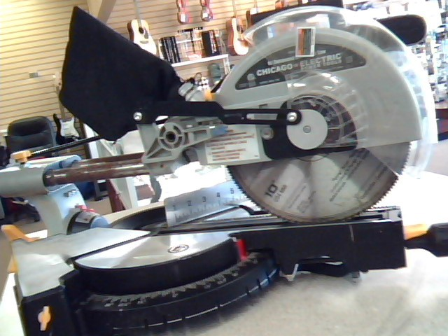 """CHICAGO ELECTRIC Miter Saw 61972 10"""""""