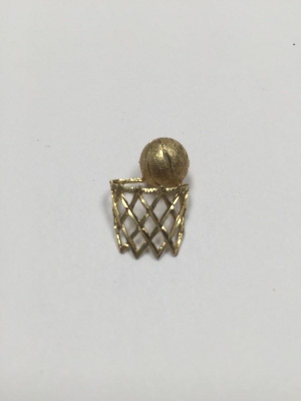 Gold Charm 10K Yellow Gold 0.8dwt