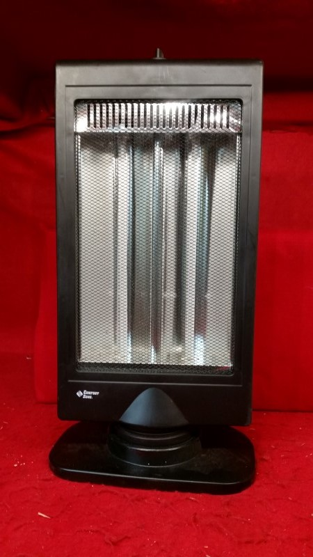 Comfort Zone CZHTV9 Halogen Electric Flat Panel Halogen Heater