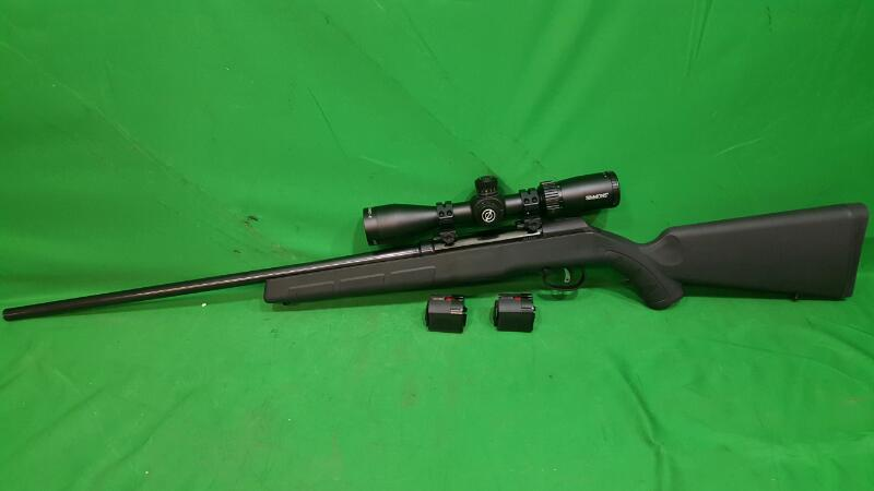 SAVAGE ARMS Rifle A17 w/3 Rotary Mags -- Simmons 3-12x40SP Scope