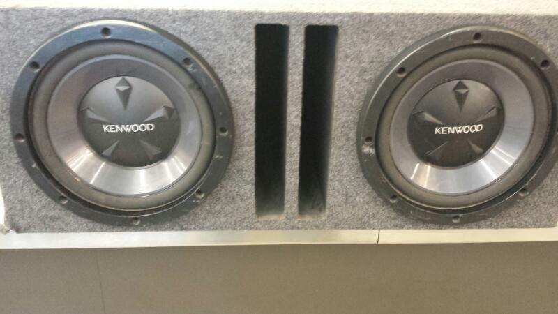 KENWOOD Car Speakers/Speaker System 12 INCH SUBS