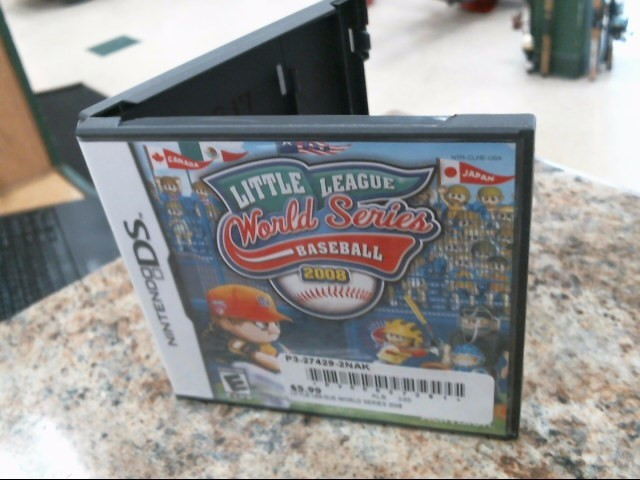 NINTENDO Nintendo DS Game LITTLE LEAGUE WORLD SERIES BASEBALL 2008