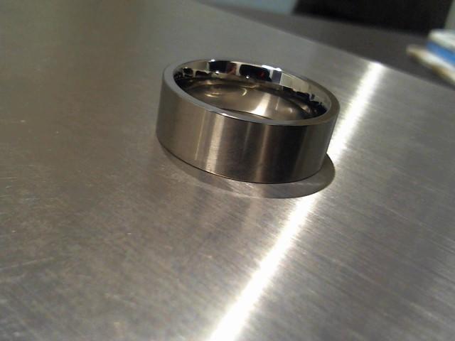 Gent's Ring Silver Titanium 5.2g