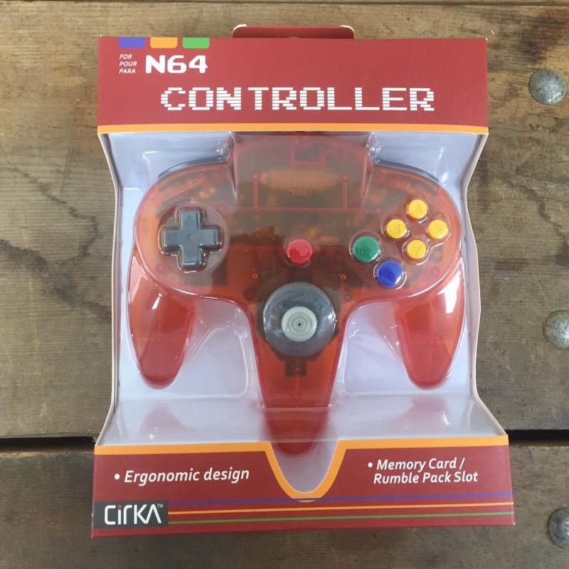 CIRKA Video Game Accessory N64 CONTROLLER - M05786