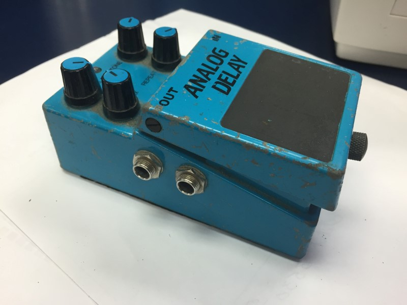 KMD KP-500 STEREO ANALOG DELAY ECHO RARE VINTAGE GUITAR EFFECT PEDAL MIJ JAPAN