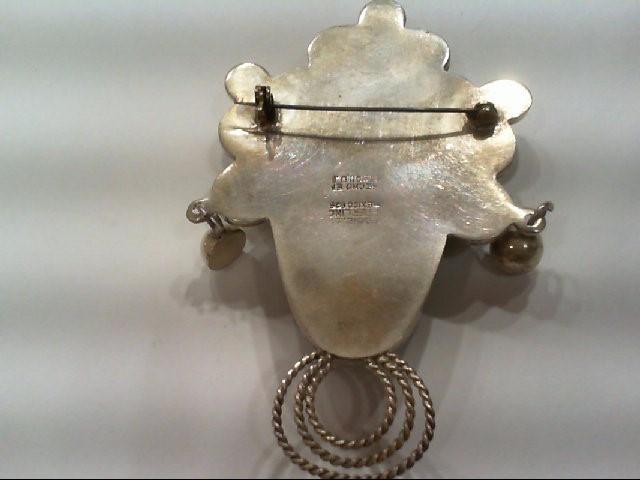 Silver Pendant 925 Silver 32.5g