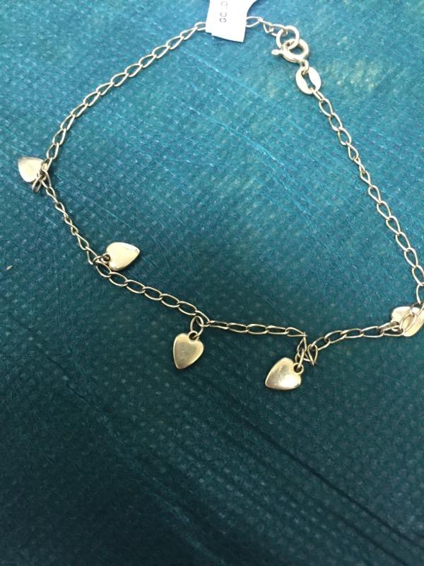 Gold Bracelet 14K Yellow Gold 2.5g