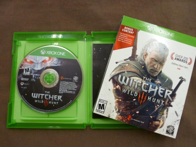 XBOX ONE THE WITCHER WILD HUNT