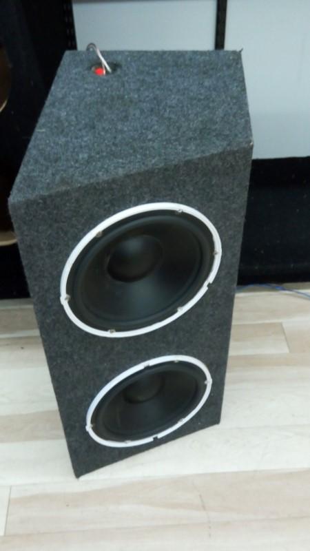 BOSS MARINE Car Speakers/Speaker System 600W 2X10 AVA-MR100