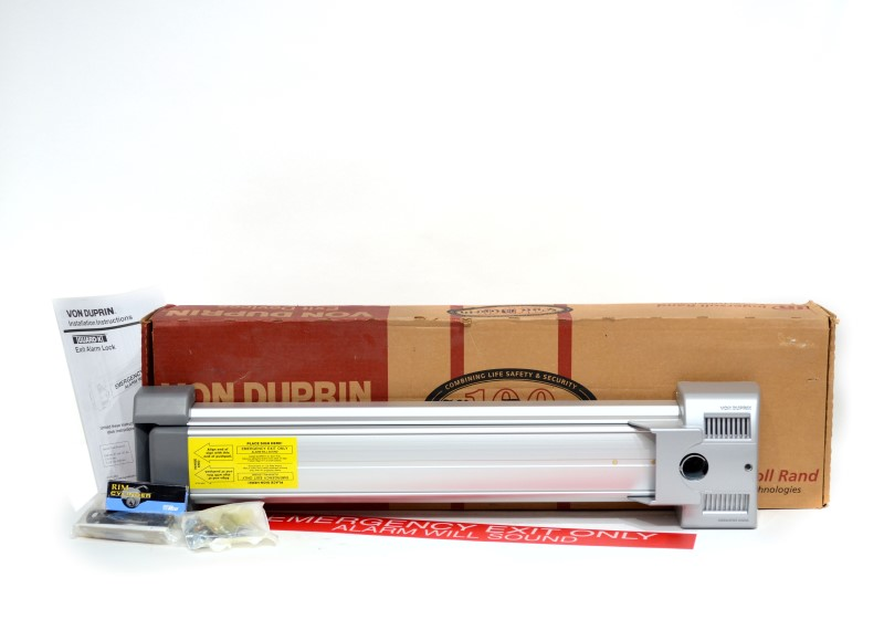 Von Duprin Guard-X Heavy Duty Exit Alarm Lock Unused in Opened Box>