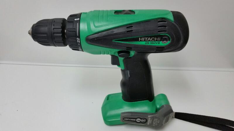 "Hitachi 18V Steel 1/2"" Cordless Drill / Driver TOOL ONLY DS18DVB"