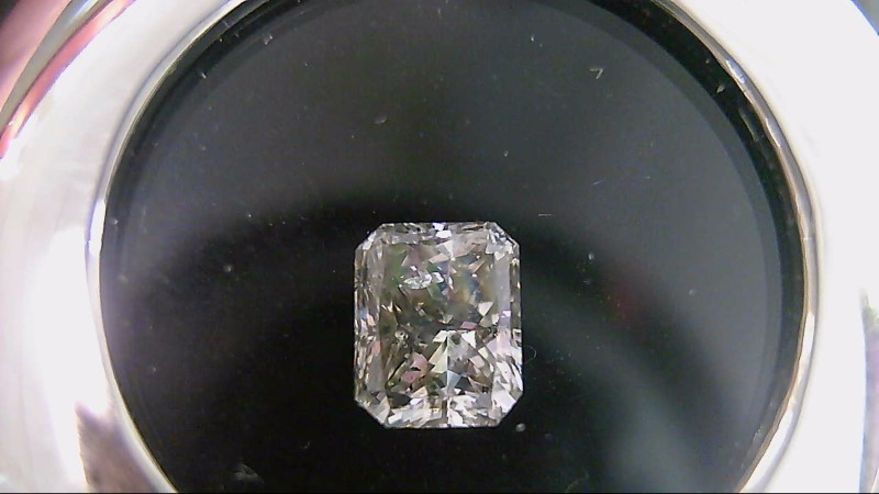 GIA Graduate Graded Loose Graded SI2 L Radiant Diamond 1.01 Carat
