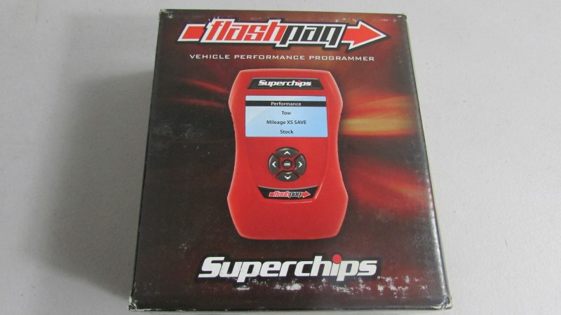 SUPERCHIPS Performance/Racing Part FLASH PAQ 1858