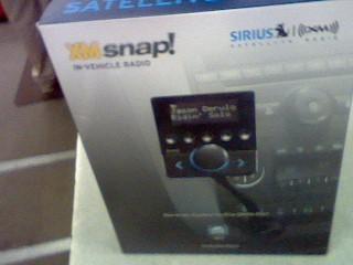 SIRIUS XM Car Audio XSN1V1 XM SNAP IN-VEHICLE RADIO