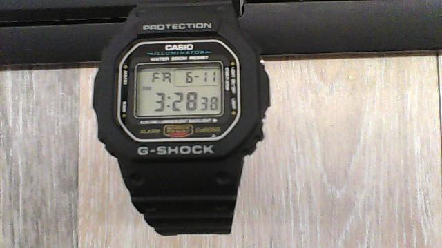 CASIO Gent's Wristwatch G-SHOCK 3229