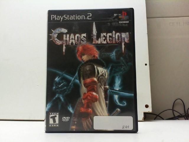 SONY Sony PlayStation 2 Game CHAOS LEGION