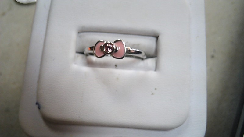Swarovski Stacking Ring-Hello Kitty Size 5.5 (Free S/H)