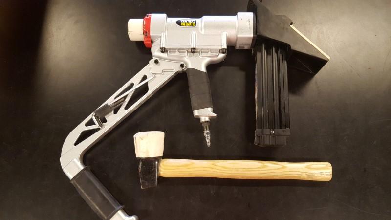 CENTRAL PNEUMATIC Nailer/Stapler 3 IN 1 FLOORING NAILER & STAPLER