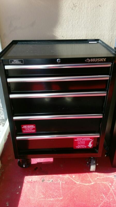 HUSKY Tool Box 4 DRAWER BALL BEARING TOOL CABINET