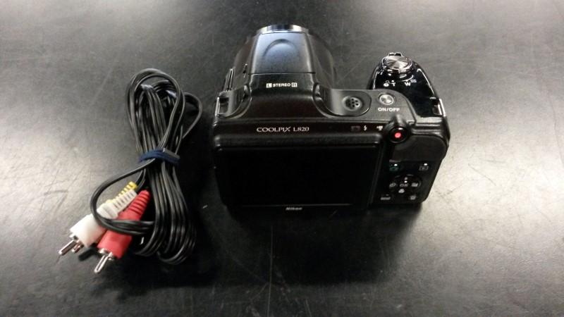 NIKON Digital Camera COOLPIX L820