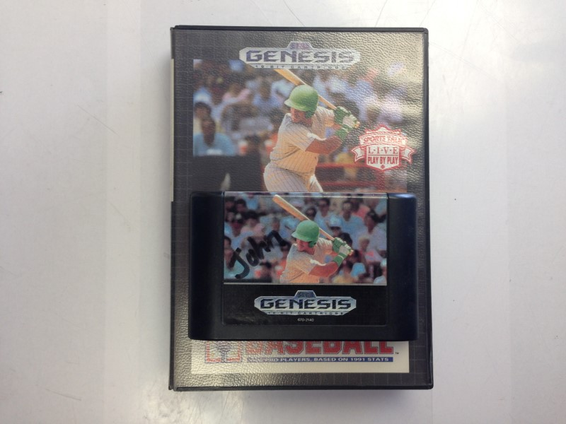 MLB Sports Talk Baseball (Sega Genesis, 1992)