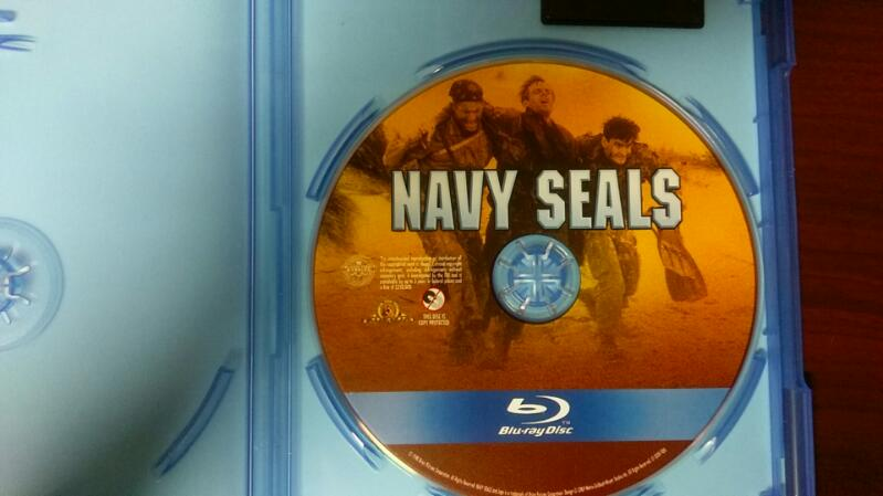 NAVY SEALS STARING CHARLIE SHEEN BLUE RAY