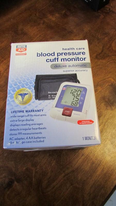 RITE AID DIGITAL BLOOD PRESSURE MONITOR