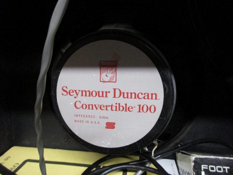 SEYMOUR DUNCAN CONVERTIBLE 60 1x12 TUBE COMBO AMP
