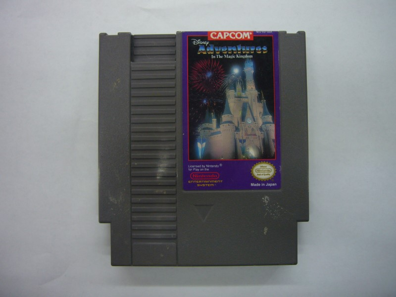 NINTENDO NES Game ADVENTURES IN THE MAGIC KINGDOM *CARTRIDGE ONLY*