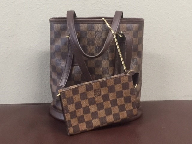 LOUIS VUITTON Handbag DAMIER MARAIS W/POUCH
