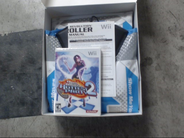 NINTENDO Nintendo Wii Game DANCE DANCE REVOLUTION HOTTEST PARTY 2