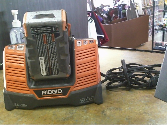 RIDGID TOOLS Battery/Charger R840093