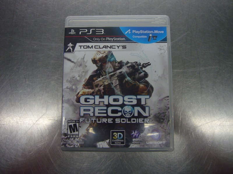 SONY PlayStation 3 Game GHOST RECON FUTURE SOLDIER