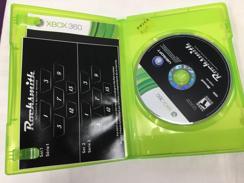MICROSOFT XBOX 360 ROCKSMITH XBOX 360