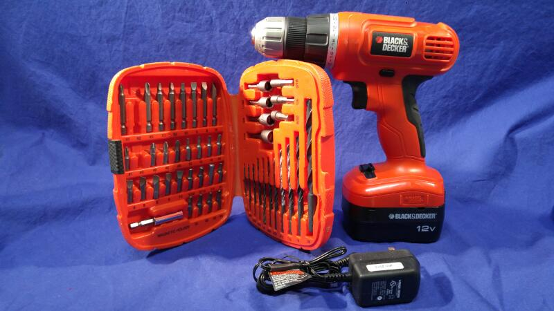 BLACK&DECKER GC1200 CORDLESS