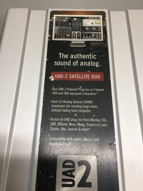 UNIVERSAL AUDIO UAD-2 SATELLITE DUO FLEXI FIREWIRE INTERFACE