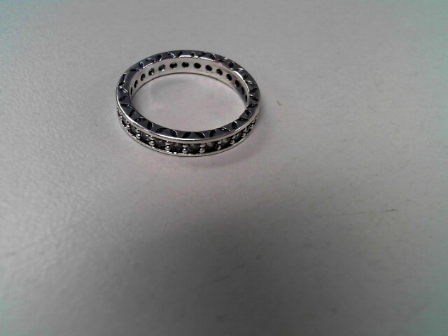 Pandora Lady's Silver Ring 925 Silver 2.2g Size:6.3