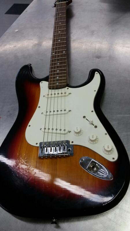 ABILENE Electric Guitar AS10/SB