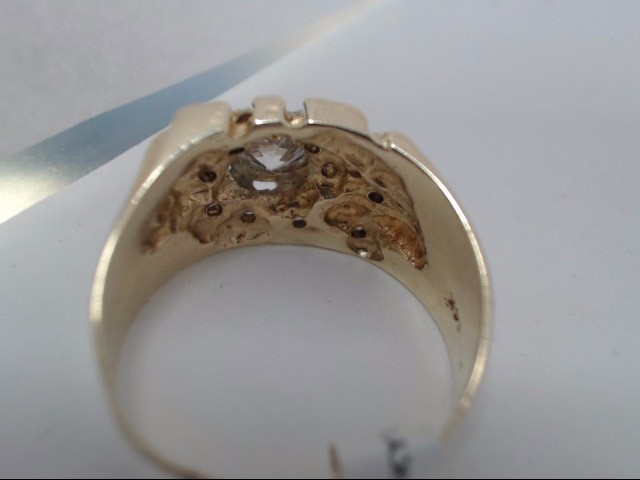 Lady's Gold Ring 14K Yellow Gold 8g