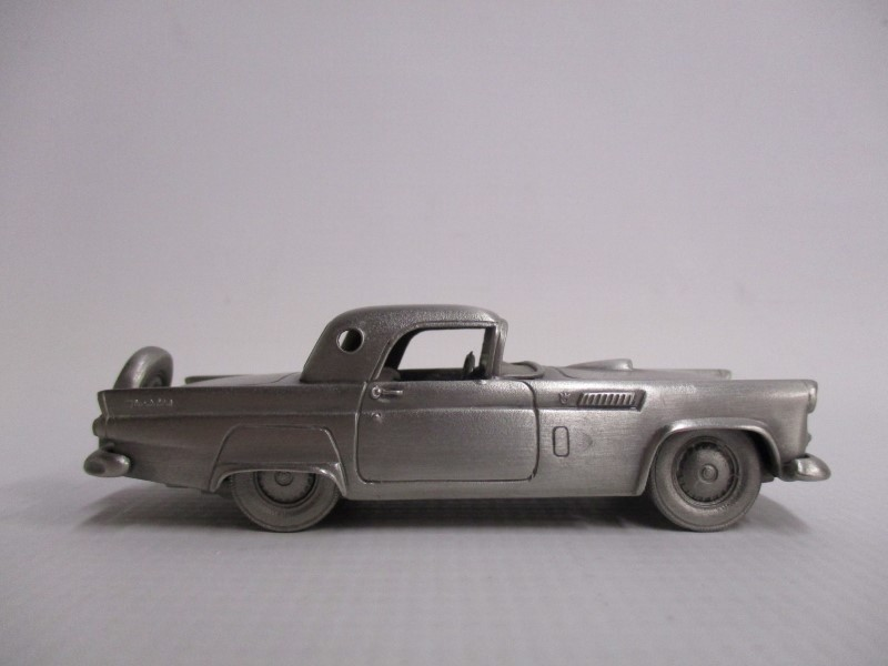 LOT OF 11 DANBURY MINT PEWTER CLASSIC CARS OF THE WORLD