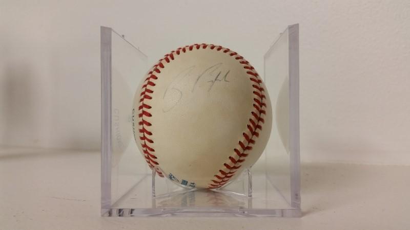 Carl Ripken Jr. & Billy Ripken Signed Autographed Baseball *NO COA*