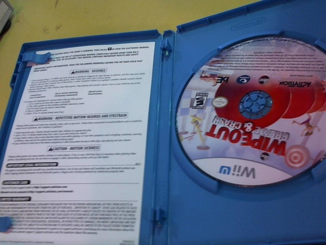 NINTENDO Nintendo Wii U Game WIPEOUT CREAT-CRASH