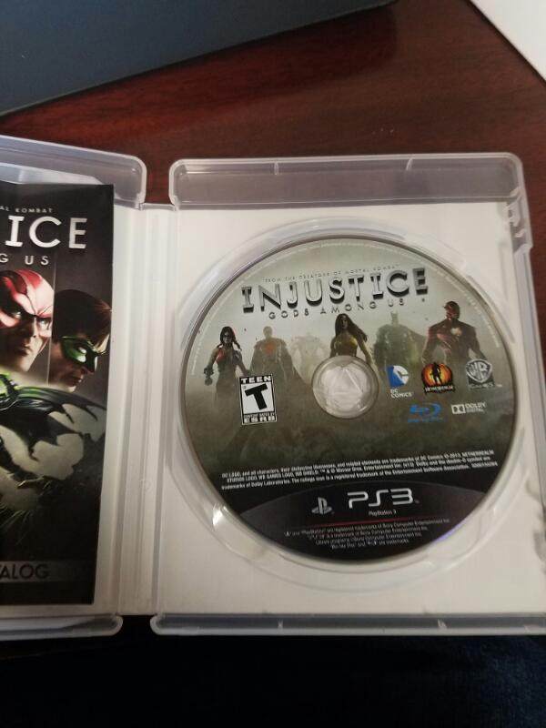 SONY Sony PlayStation 3 Game INJUSTICE GODS AMONG US ULTIMATE EDITION PS3