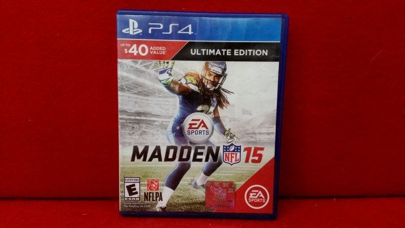 Madden NFL 15 (Sony PlayStation 4, 2014)