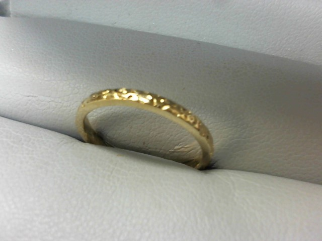 Lady's Gold Ring 14K Yellow Gold 1.8g Size:6